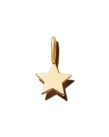 Zoë Chicco - 14K Yellow Gold Midi Bitty Star Charm