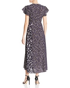 FRENCH CONNECTION - Aliyah Mixed-Floral Maxi Dress