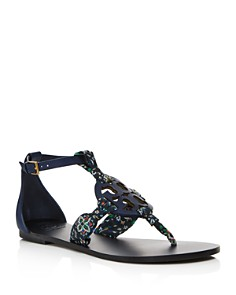 Tory Burch - Women's Miller Scarf Thong Sandals