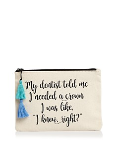 Fallon & Royce - Dentist Canvas Pouch