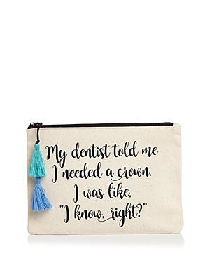 Fallon & Royce Dentist Canvas Pouch