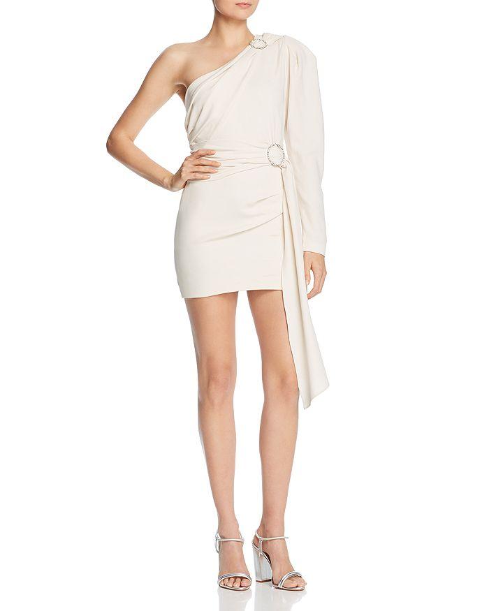 Ronny Kobo Rema One-Shoulder Dress