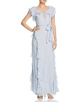 Alice McCall - Moon Cascading-Ruffle Gown