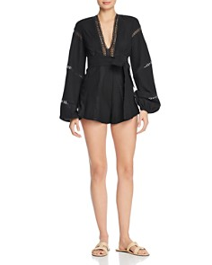 Alice McCall - Pintuck-Pleated Romper