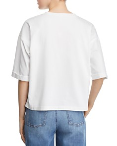 Eileen Fisher Petites - Cropped Tee