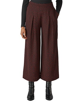 Whistles - Mari Printed Wide-Leg Pants