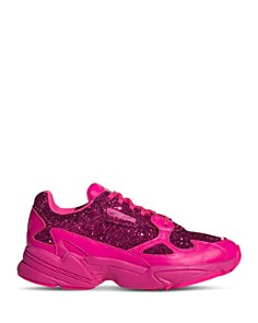 Adidas - Women's Falcon Glitter Low-Top Dad Sneakers