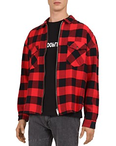 The Kooples - Plaid Zip Shirt