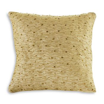 "Donna Karan - Gilded Decorative Pillow, 12"" x 12"""