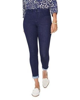 NYDJ - Ami Skinny Cuffed Ankle Jeans in Rinse
