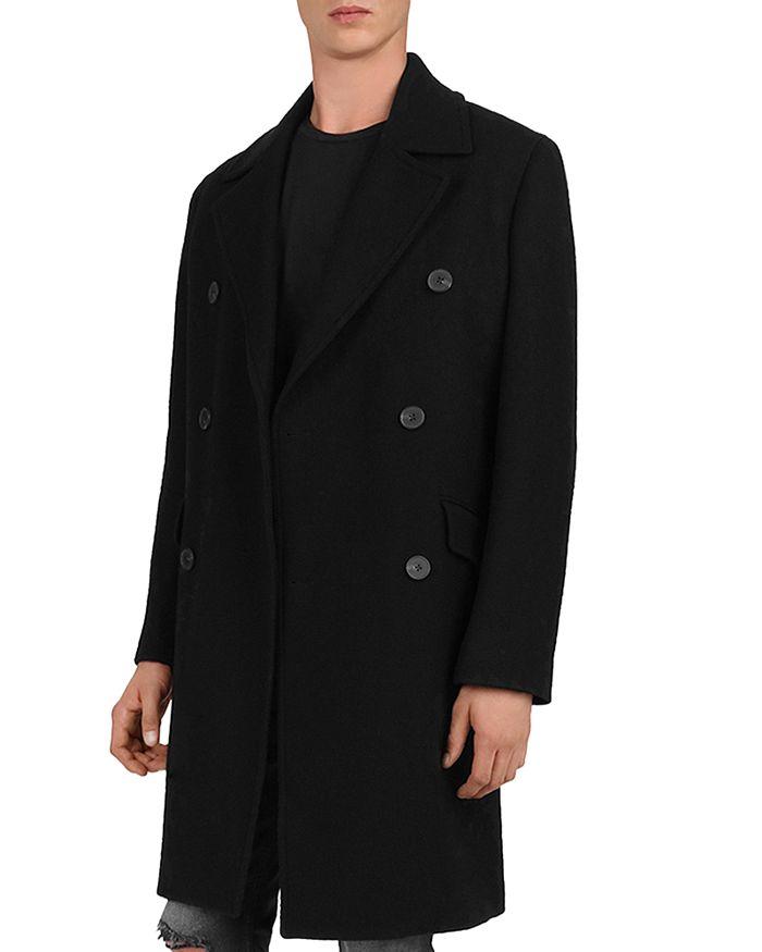 The Kooples - Doppio Double-Breasted Coat