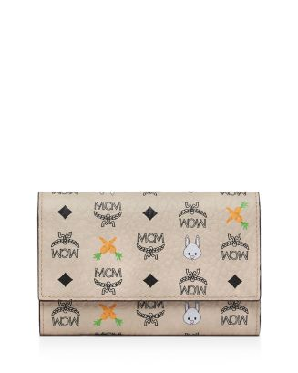 Rabbit Trifold Wallet by Mcm