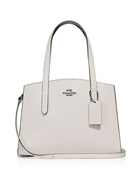 COACH - Charlie 28 Convertible Leather Tote