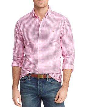 c8e9cb0be2c9b Polo Ralph Lauren - Patterned Classic Fit Button-Down Oxford Shirt ...