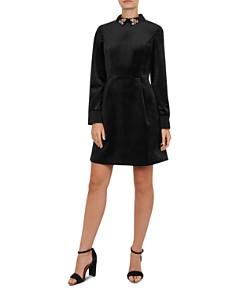 Ted Baker - Alava Embellished Velvet Dress