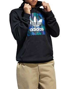 adidas Originals - Towning Logo Graphic Hooded Sweatshirt