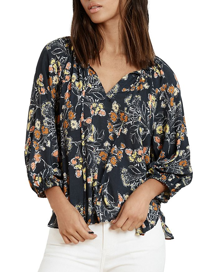 fd9ba381ab4 Velvet by Graham   Spencer - Sharla Floral Peasant Top
