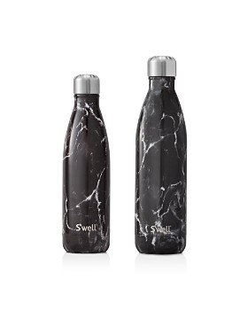 S'well - Black Marble Bottles