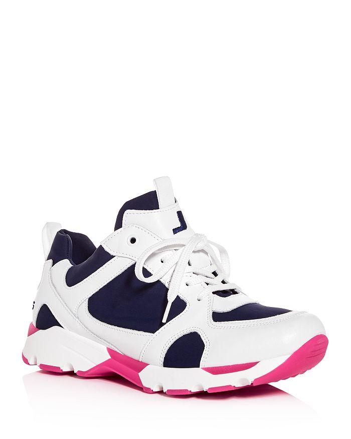 Joshua Sanders - Women's Hydro Diana Color-Block Low-Top Sneakers