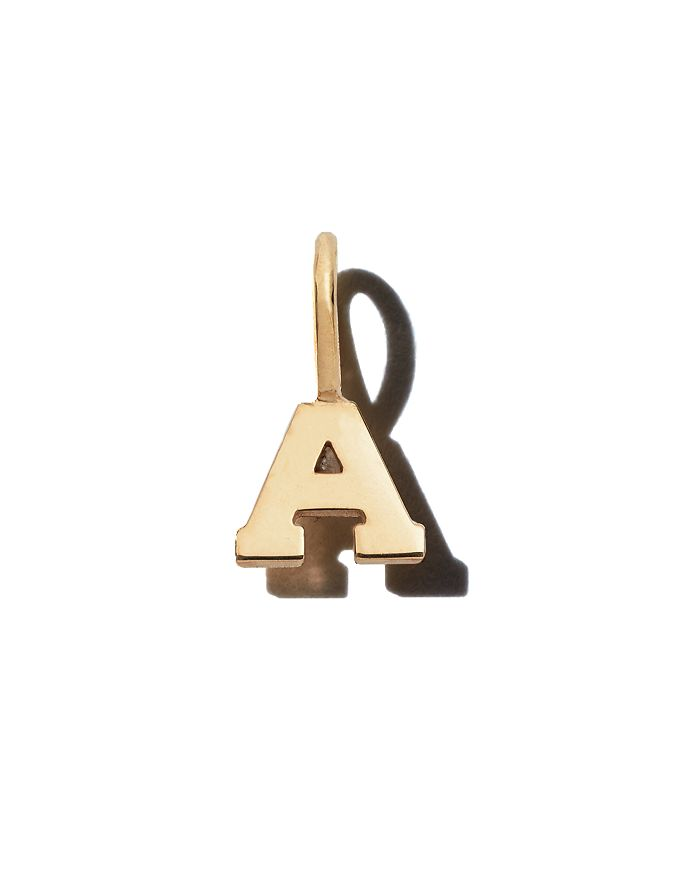 ZoË Chicco 14K Yellow Gold Initial Charm In A/Gold