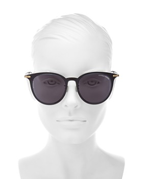 Bottega Veneta - Women's Round Sunglasses, 55mm