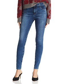J Brand - Maria High Rise Skinny Jeans in Polaris