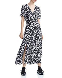 a325eea2a7deb4 Tory Burch Serena Printed Silk Dress