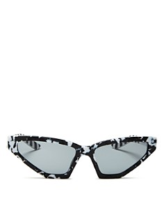 Prada - Women's Cat Eye Sunglasses, 57mm