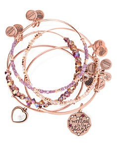 Alex and Ani - Written in the Stars Expandable Bracelets, Set of 5