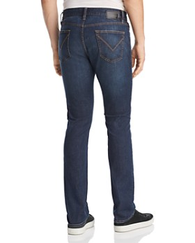 John Varvatos Star USA - Bowery Straight Slim Fit Jeans in Storm Blue