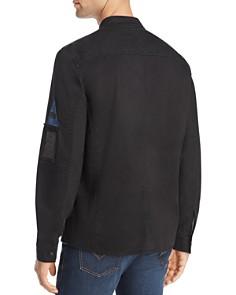 John Varvatos Star USA - Zip-Front Shirt Jacket