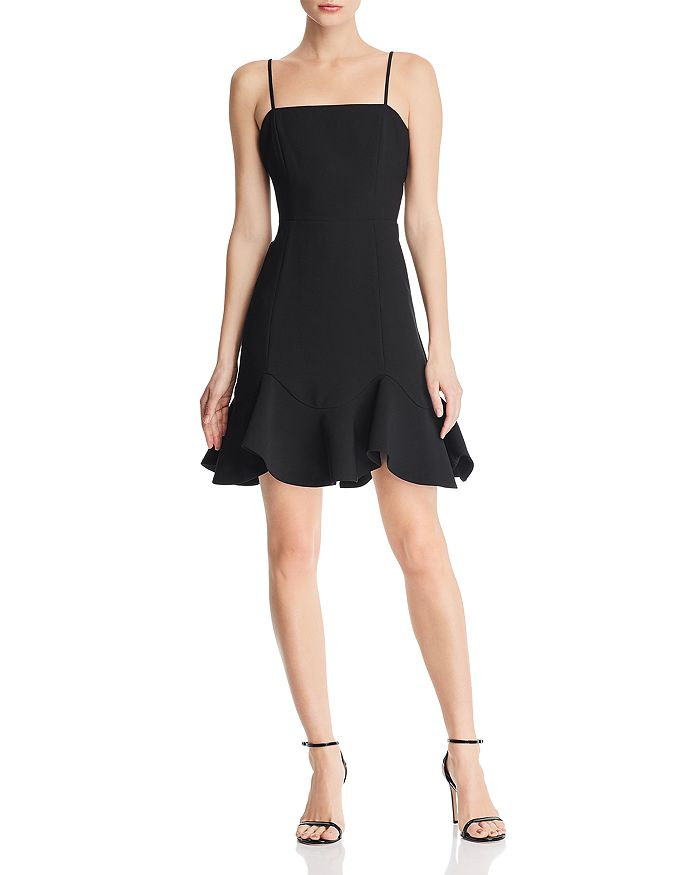 Bardot - Laurie Flounce-Hem Dress - 100% Exclusive