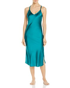JASMINE AND WILL - Ravello Long Silk Slip