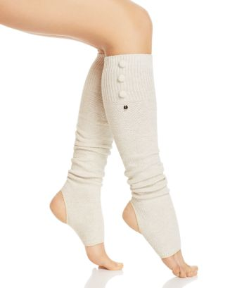 Open Heel Half Toe Leg Warmers by Toe Sox