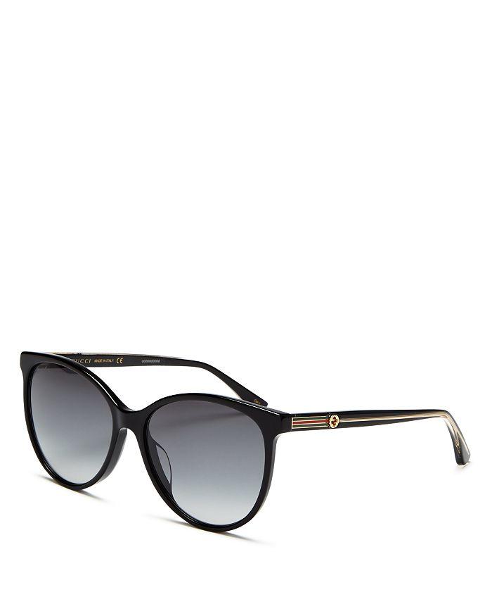 Gucci - Women's Cat Eye Sunglasses, 57 mm
