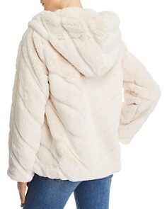 Apparis - Genevieve Hooded Faux-Fur Coat - 100% Exclusive