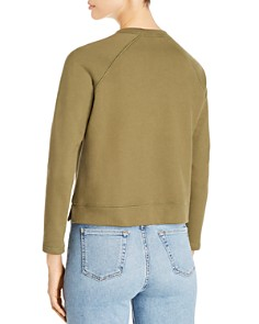 Eileen Fisher - Raglan-Sleeve Sweatshirt