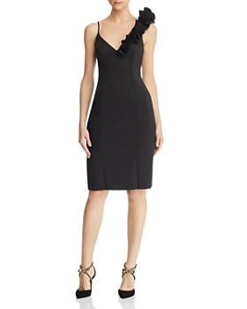 747106db0a90dc Eliza J - Asymmetric Ruffle Dress ...