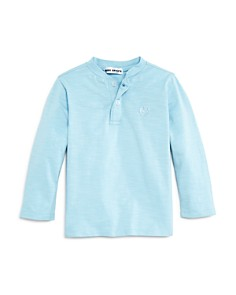 Mini Series - Boys' Smiley Face Henley Top, Little Kid - 100% Exclusive