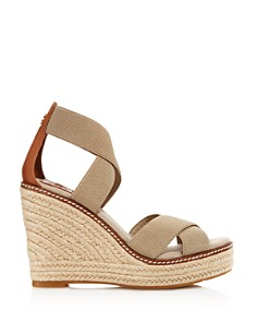 Tory Burch - Women's Frieda Wedge Heel Espadrille Sandals