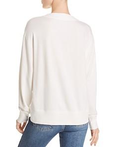 rag & bone/JEAN - Flora V-Neck Sweatshirt
