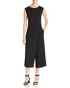 Eileen Fisher - Overlay Wide-Leg Jumpsuit
