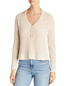 Eileen Fisher Petites - V-Neck Sweater