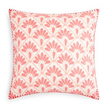"John Robshaw - Hila Lotus Decorative Pillow, 20"" x 20"" - 100% Exclusive"