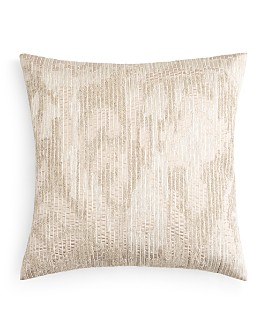 """Hudson Park Collection - Embroidered Texture Decorative Pillow, 20"""" x 20"""" - 100% Exclusive"""