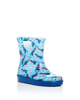 UGG® - Boys' Rahjee Desert Dino Rain Boots - Walker, Toddler