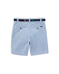 Ralph Lauren - Boys' Slim Fit Oxford Belted Shorts - Little Kid