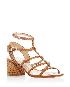 SCHUTZ - Women's Rosalia Strappy Block-Heel Sandals