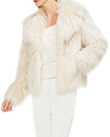 VINCE CAMUTO - Faux-Fur Jacket