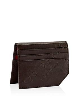 Ted Baker - Wuncard Embossed Leather Cardholder